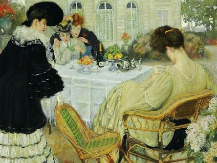 Henry Caro-Delvaille Ladies Taking Tea 1902