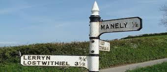 signpost to lerryn