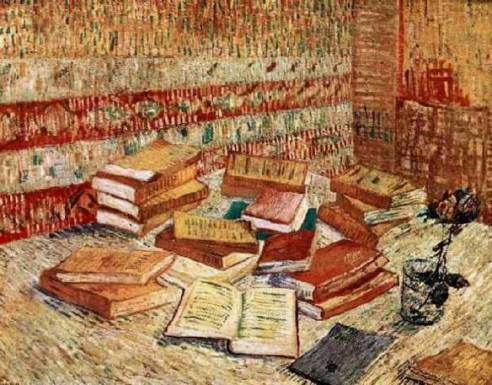 still-life-with-french-novels-and-a-rose-vincent-van-gogh-1887