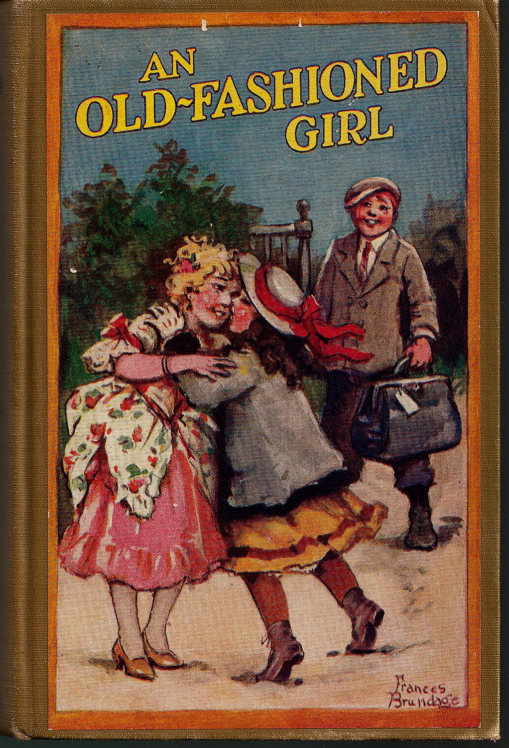 Old Fashioned Book Cover : An old fashioned girl by louisa may alcott a corner of