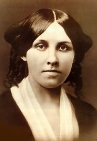Louisa May Alcott aged about 25
