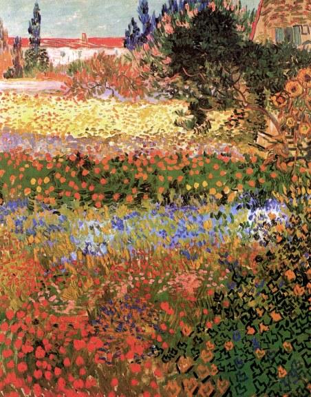 Flowering Garden Van Gogh