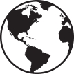 earth clipart black and white Awesome Globe Clipart Black And White Vector